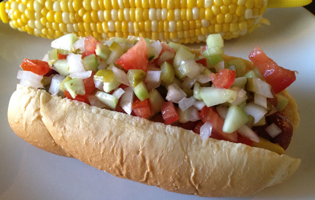 An easier way to eat the best hot dog there is.