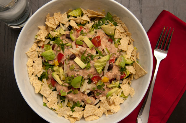 Great for lunch or dinner, vegetarians or omnivores!